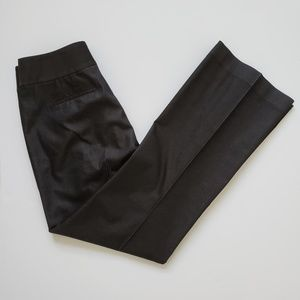Tahari Black Straight Leg Dress Pants Womens 10